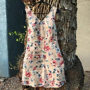 FLORAL Millennial Pink Dress